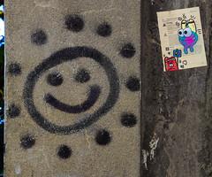HH-Wheatpaste 3303 (cmdpirx) Tags: hamburg germany reclaim your city urban street art streetart artist kuenstler graffiti aerosol spray can paint piece painting drawing colour color farbe spraydose dose marker stift kreide chalk stencil schablone wall wand nikon d7100 paper pappe paste up pastup pastie wheatepaste wheatpaste pasted glue kleister kleber cement cutout