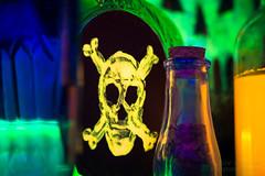 Poison - Macro Monday (jciv) Tags: file:name=dsc08067 macro macromondays bottle bottles skull death poison