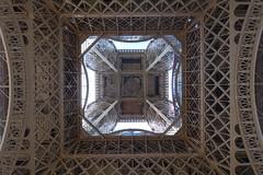 Eiffel Tower @ Paris (*_*) Tags: paris france europe city june 2017 printemps spring sunny hot sunday eiffeltower toureiffel observatory view viewpoint metal iron paris15 75015