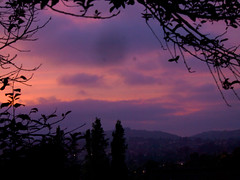 sunset 20150420