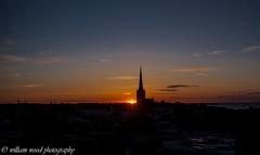 Setting (WRW Photography) Tags: canon canoneos canonrebelxsi canoneos450d canon450d 450d estonia tallinn capital capitalcity sunset sun silhouette clouds cloud