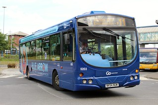 Go North East: 5203 / NK54 NUW