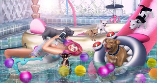 Puppy Power Pool Party