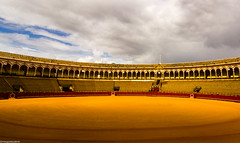 Plaza de Toros (maugustocabral) Tags: spain sevilha bull plaza fight d3100