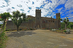 Village fortifié . (PACHA23) Tags: villagesdefrance fortification ciel gers villagefortifier mur architecture patrimoine