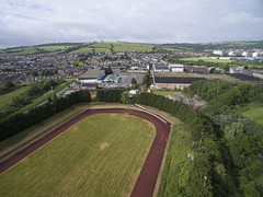 Hengrove-0007 (Neil Hobbs) Tags: bristol dji hengrove phantom3advanced runningtrack whitchurchairport whitchurchsportscentre aerial