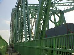 DSCF0669E Silver Jubilee Bridge, Runcorn (Anand Leo) Tags: silverjubileebridge runcorn rivermerseymerseygatewaybridgeruncornmanchestershipcanal