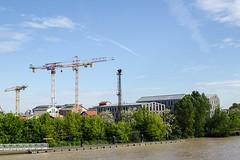 Quai Bacalan Bordeaux, Gironde (lyli12) Tags: quai garonne bordeaux gironde paysage patrimoine landscape industrie grue aquitaine urbain ville nikon france fleuve