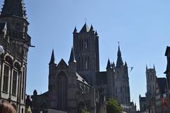 Gante (Bélgica) (littlecastle96) Tags: gante bélgica geografíahumana edificio monumento turismo arquitectura architecture belgium iglesia church patrimonio heritage building torre tower gótico gothic