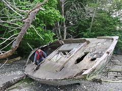 2017-05-18 at 19-46-41 (stepho.the.bear) Tags: boat wreacks shanty boating saltspring island bc