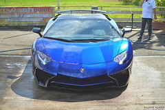 I'm Blue (Beyond Speed) Tags: lamborghini aventador superveloce sv roadster supercar supercars car cars carspotting nikon v12 blue spoiler carbon santagata automotive automobili auto