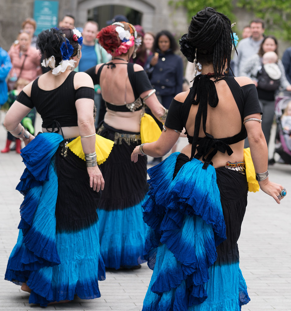 The Zoryanna Dance Troupe Tribal Belly Dancing [Africa Day 2017 Dublin]-129049