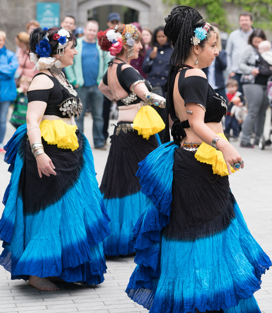 The Zoryanna Dance Troupe Tribal Belly Dancing [Africa Day 2017 Dublin]-129050