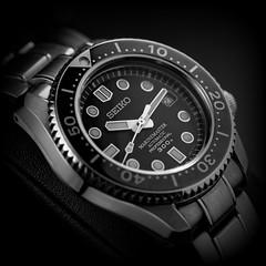 Seiko Marine Master 300 SBDX017 - Portrait classique carré (paflechien33) Tags: nikon d800 micronikkor105mmf28afsifedvrg sb900 sb700 su800 seikosbdx017marinemaster300