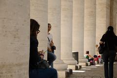 DSC_1679 (Cecilia_Virdis) Tags: roma rome sanpietro architecture colonnato cugine