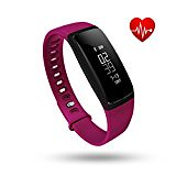 Fitness Tracker, Tonbux Upgraded Smart Watch Wristband Heart Rate Monitor, Blood Press Monitor, OLED Pedometer Bluetooth 4.0 for Outdoor Running Walking For iOS Android Smart Phone (V7 Purple) (trolleytrends) Tags: android blood bluetooth fitness heart monitor oled outdoor pedometer phone press purple rate running smart tonbux tracker upgraded walking watch wristband