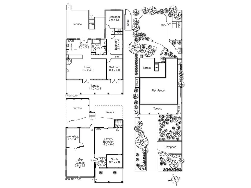 61 Weatherall Road floorplan