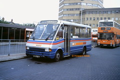 A scud for all seasons (SelmerOrSelnec) Tags: gmbuses mcw metrorider f670yog ashtonunderlyne loan westmidlandstravel minibus bus scud 350