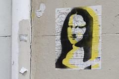 Omaj (Ruepestre) Tags: omaj monalisa mona lisa joconde art paris parisgraffiti urbain urbanexploration urban streetart street graffiti graffitis graffitifrance graffitiparis france rue wall walls mur ville city villes
