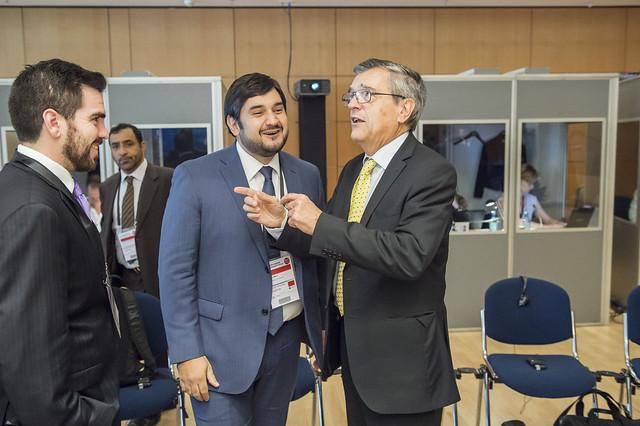 Carlos Melo with José Viegas