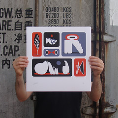 Genesis II (Bilos Mantho) Tags: print screenprint printisnotdead bilos editionscomete norwich lyon london marseille fedrigoni materica