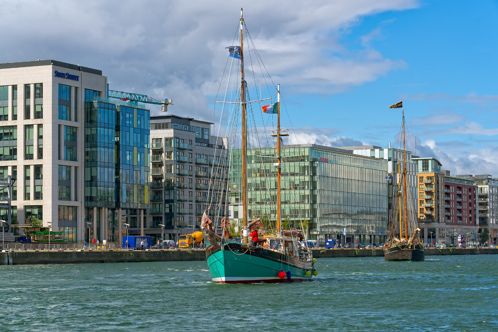THE BRIAN BORU [SETS SAIL FROM DUBLIN AFTER THE DUBLIN PORT RIVERFEST 2017]-129416