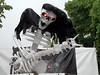 Guitar player from hell (onnola) Tags: karnevalderkulturen 2017 kdk karneval carnival carnivalofcultures berlin deutschland germany kreuzberg umzug fest strasenfest multikulturell streetfestival multicultural wagen umzugswagen float skelett gitarre knochen bones skeleton guitar