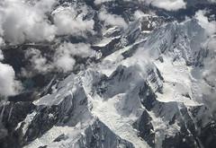 Cordillera de los Andes (GaboUruguay) Tags: andean mountains cordillera andes cordilleradelosandes chile plane avion aircraft view landscape montaña nieve snow copa nube cloud flickrunitedaward
