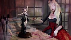 Violent Seduction Competition- The doll Maker (Seraph Kegel) Tags: bjd doll secondlife violentseduction people sl lolita