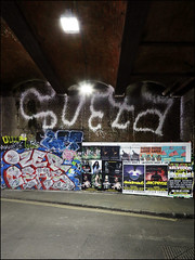 Soeta / Ozer / Ceas (Alex Ellison) Tags: soeta fireextinguisher tag eastlondon urban graffiti graff boobs shoreditch ozer osv ceas ghz