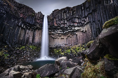 Svartifoss (Russell Eck) Tags: water waterfall nature landscape black falls iceland russell eck project odyssey long exposure longexposure neutral density filter polarizer