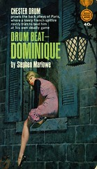 Gold Medal Books k1508 - Stephen Marlowe - Drum Beat – Dominique (swallace99) Tags: goldmedal vintage mystery intrigue paperback robertmcginnis