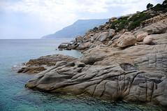 Rock formations near Seychelles beach, Ikaria / Greece (ANJCI ALL OVER) Tags: greece greekislands ikaria aegean ελλάδα ελληνικάνησιά ικαρία αιγαίο northaegean