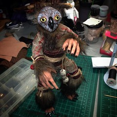 Photo (Thunder Jay Studio) Tags: ifttt instagram thunderjaystudio his name is jeepers he wants touch your butt while you sleep owl fae nightcourt jinglebells creepy cryptid fairy legend bumpinthenight nyff spooky