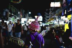 Khao San Road (62dingos) Tags: khaosanroad bangkok city urban night markets stall street colour colourful color people travel thailand asia nikon nikkor colorful hats inexplore 100 100faves