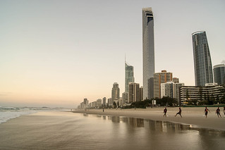 Football in Surfers Paradise