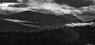 Scottish Highlands in BW #3