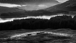 Scottish Highlands in BW #1