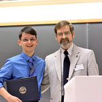Justin Lien, Janet Tritsch Award; Professor Robert Wickesberg
