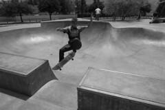 AfternoonChannelAir (ArielImages) Tags: sonya7r2 25mmbatis zeiss sony skateboarding skatepark bw piruskatepark channelair