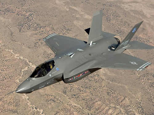 Lockheed Martin F-35 Joint Strike Fighter AA1