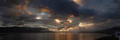 A giant's canvas (GDDigitalArt) Tags: scotland ullapool landscape mountains sea water caravan campsite skyporn sunset clouds skyskape
