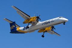 Horizon Air Bombardier Dash-8 Q400 N403QX (jbp274) Tags: lax klax airport airplanes bombardier dash8 q400 alaskaairlines horizonair qx horizon montanastateuniversity