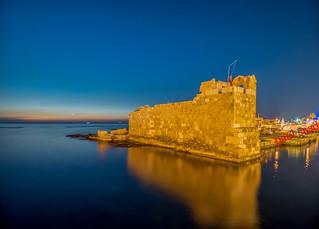 Byblos Phoenician Fort, Lebanon