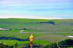 Hearst Castle view (larsling) Tags: hearst castle california sansimeon william randolph hearstcastle williamrandolphhearst juliamorgan highway1 scenicviews historicalplace ocean publishingtycoon