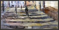 PEÑARROYA DE TASTAVINS-PINTURA-FRAGMENTOS-CUADROS-ESCALERAS-CALLES-PAISAJES-PUEBLOS-MATARRAÑA-MATARRANYA-TERUEL-ARTISTA-PINTOR-ERNEST DESCALS (Ernest Descals) Tags: peñarroyadetastavins matarraña matarranya teruel aragon españa spain pintar pintando esencias pinturas cuadros cuadro detalle detalles fragmento fragmentos art artwork arte pintura quadres detalls pintures escales escalera escalones piedra village poble pobles pueblo pueblos poblaciones pintor pintores pintors plastica plasticos painter paint pictures painters paintings painting paisaje paisajes landscape landscaping ernestdescals paisatge paisajistas paisatges escaleras centrohistorico panaderia ayuntamiento ajuntament personas vida life movimiento expresionismo verdades pasear artistas artistes