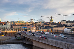 Traffic (Infomastern) Tags: stockholm bil bridge bro car city traffic trafik