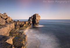 Purple Haze. (pedro2324) Tags: pulpitrock portland portlandbill dorset longexposure creamywater seashore seascape beach flow rocks clifftops