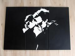 The Boondocks Saints 3 - Artwork (pop-art-world_de) Tags: popart leinwand kunstwerk gemälde poster popartportrait schwarzweis acrylleinwand acryl acrylmalerei acrylbilder wallpaper italianstallion derblutigepfadgottes theboondocksaints