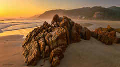 {EXPLORE #131 June 11th} Special Memories- live in our heart and minds (swazileigh/ Langman Lightscapes) Tags: noetziebeach knysna southafrica easterncape beach yellow castles sandcastles rocks sunset seascape oceanscape nikon nikond800 waves fireflies
